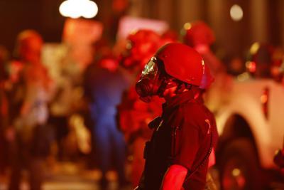 Minneapolis Police Death Denver Protest