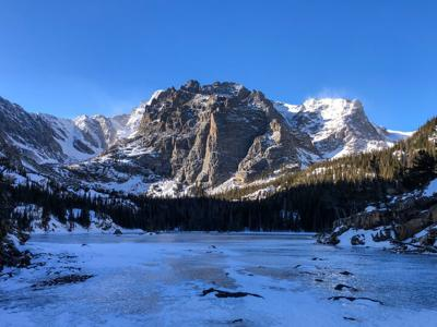 The Loch in Rocky Mountain National Park, Photo Credit: Spencer McKee, OutThere Colorado.