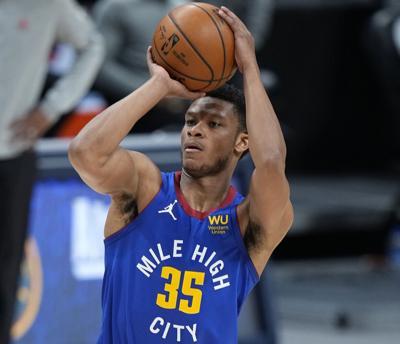 Rockets Nuggets Basketball Dozier