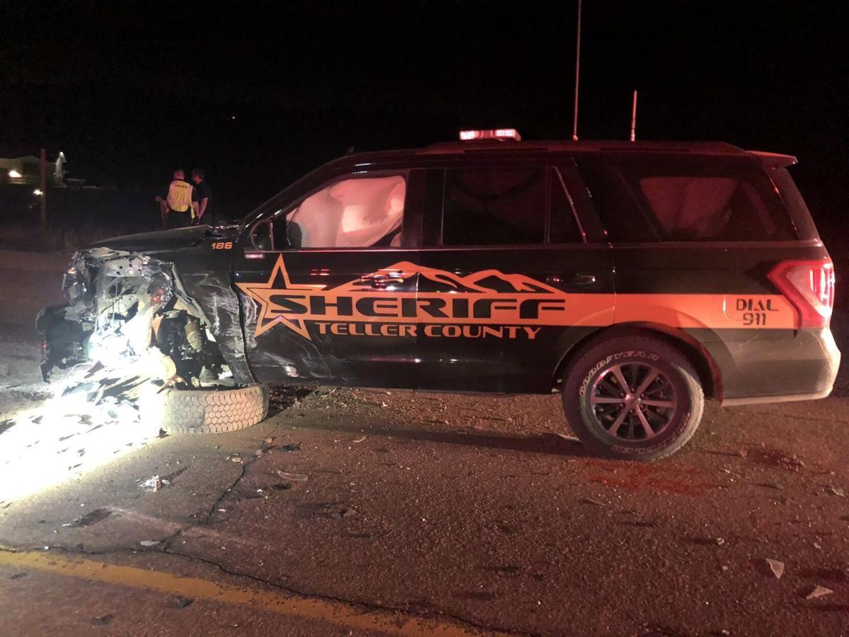 Teller County DUI crash