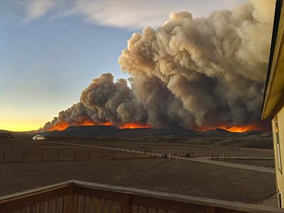 East Troublesome Fire. Photo Credit: Jessy Ellenberger via AP.