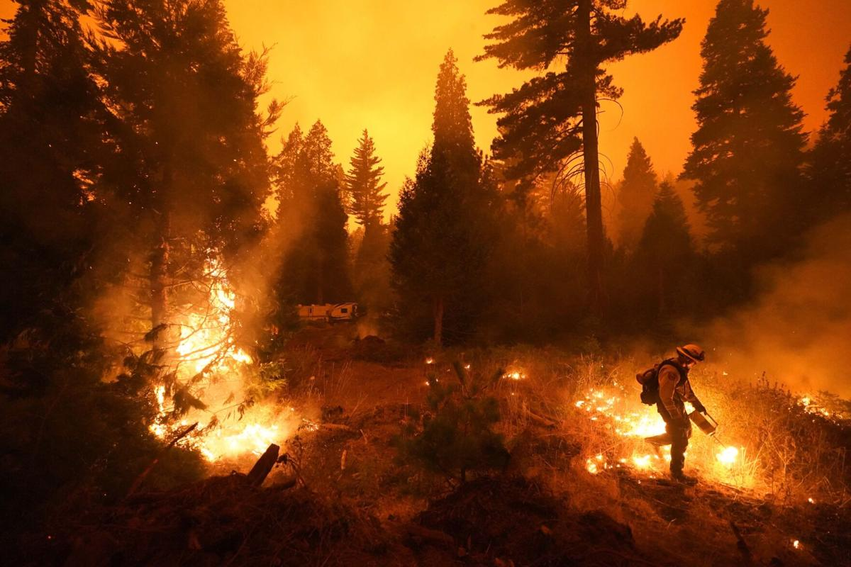 Western Wildfires Firefighters