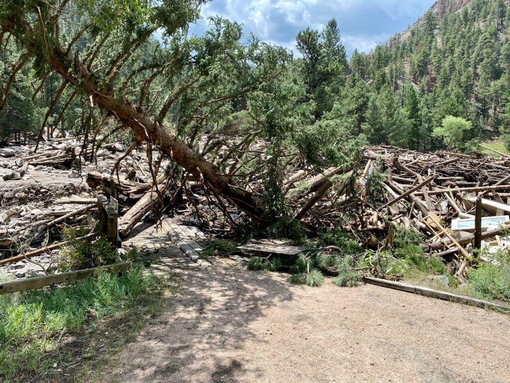 Poudre Canyon flood