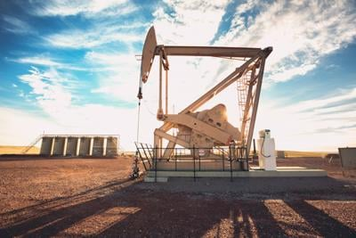 Fracking Oil Well drilling gas