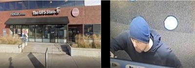 UPS store burglary suspect