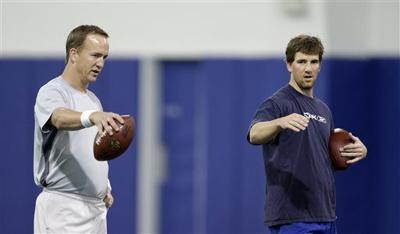 Peyton Manning, Eli Manning
