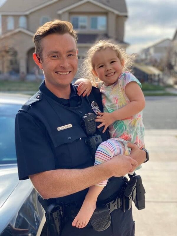 Commerce City police officer Curt Holland