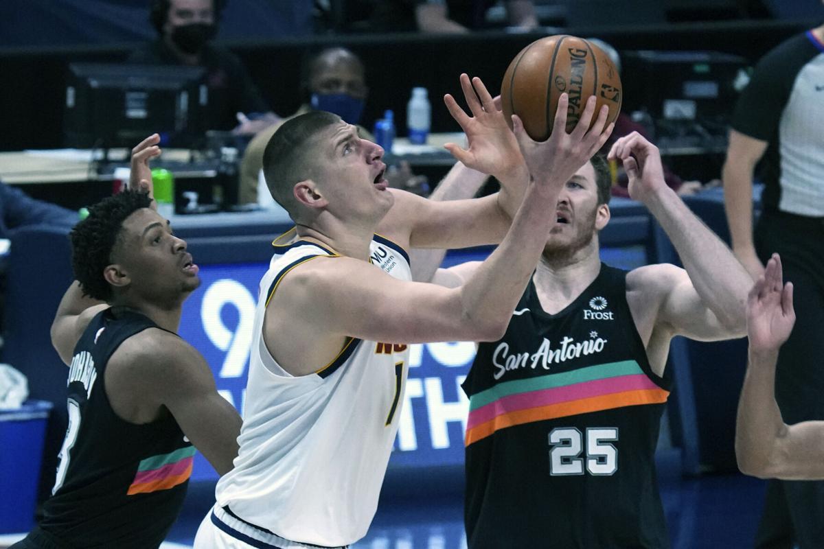 Spurs Nuggets Basketball