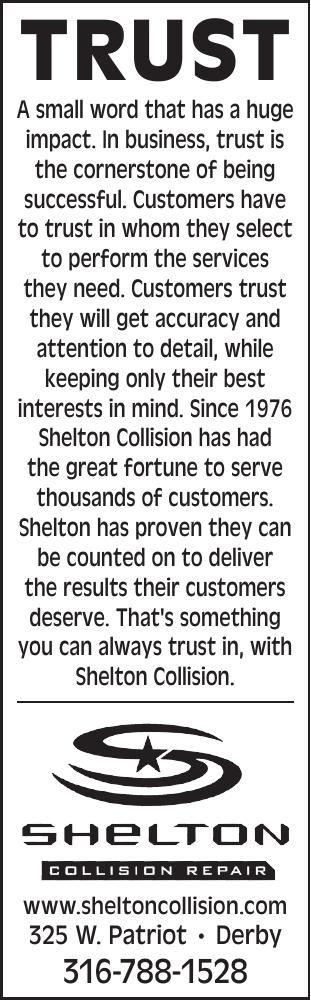 Shelton Collision - Trust