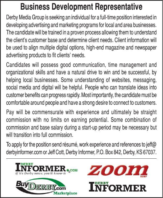 Help Wanted: Business Development Representative