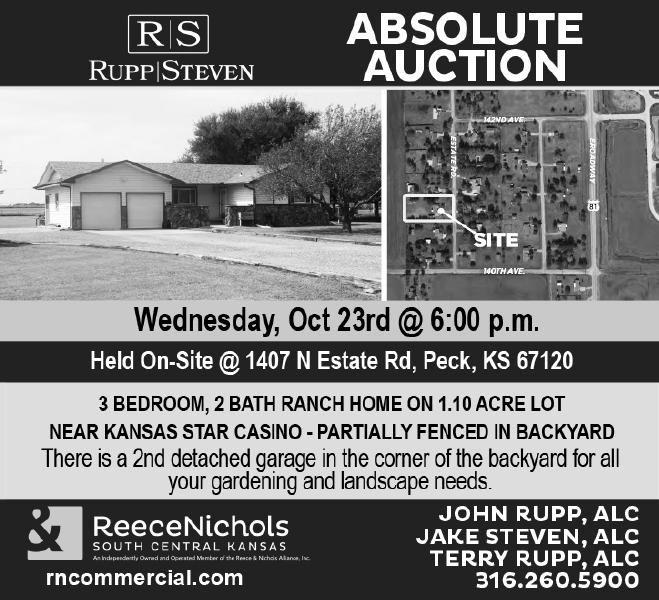 Reece Nichols - 1407 N. Estate Rd., Peck