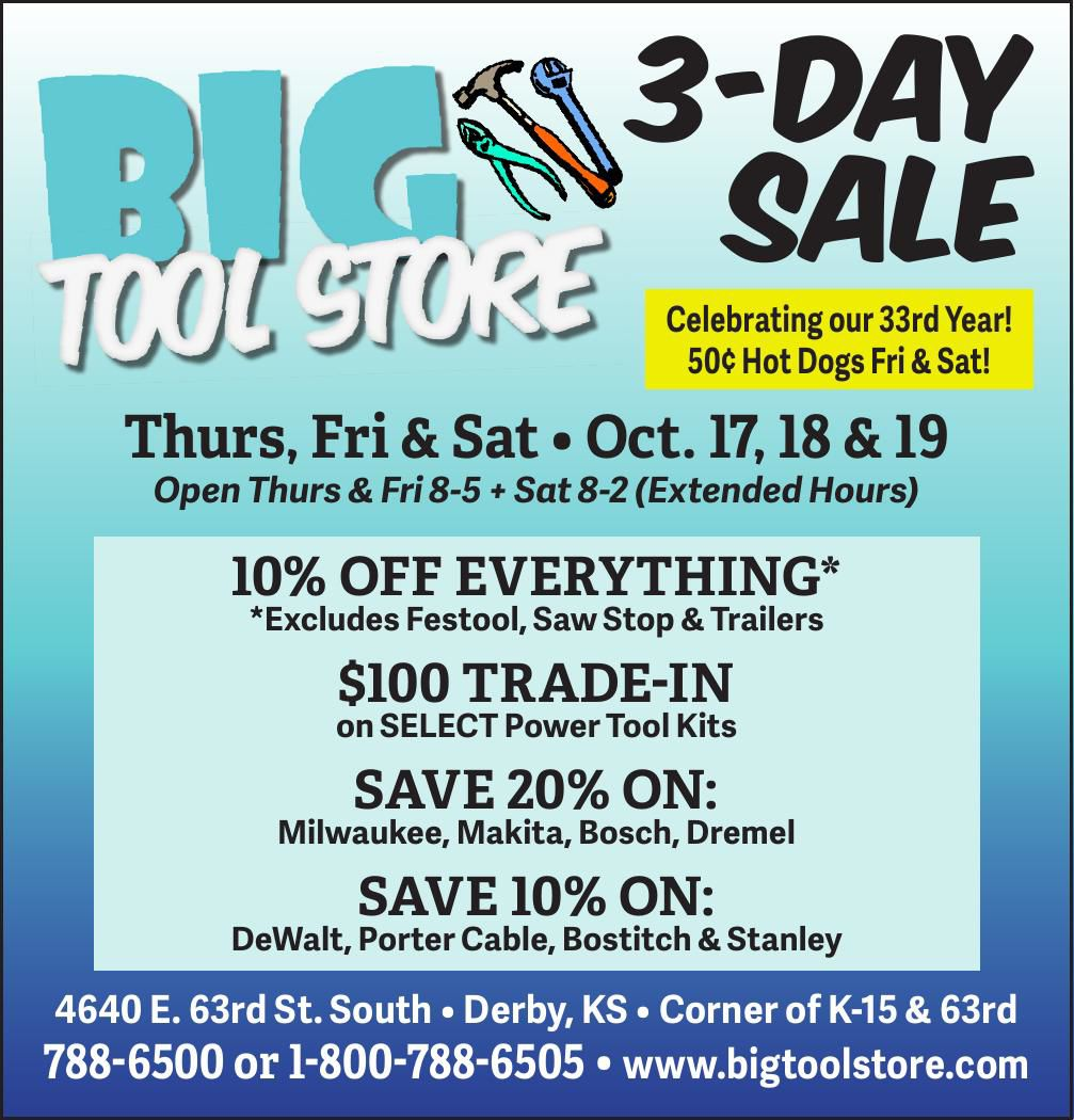 Big Tool Store - 3-day sale