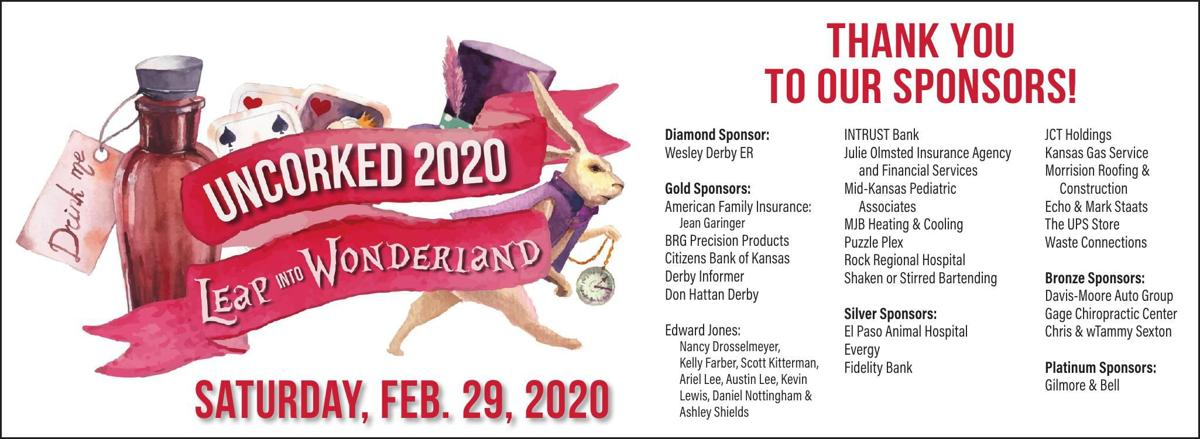 Uncorked 2020 - Thank you to our sponsors!