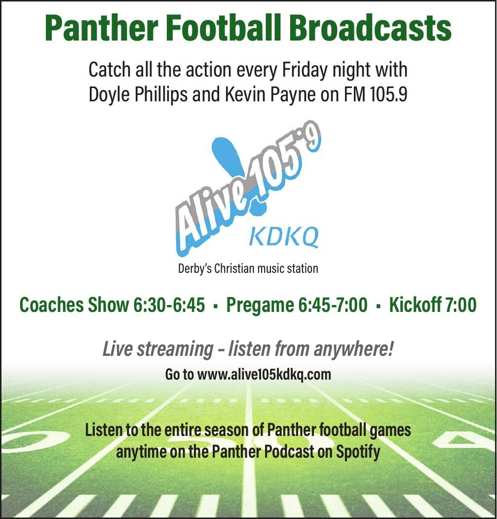 Alive 105.9 - Panther Football Broadcasts