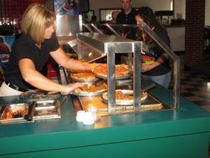 tallianos pizza buffet