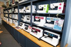 A-1 A whole line of sewing machines