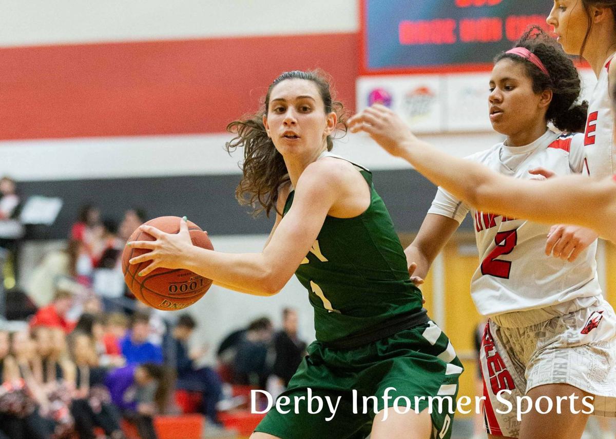Feb. 4 Derby Lady Panther basketball vs. Maize (Sydney Nilles)