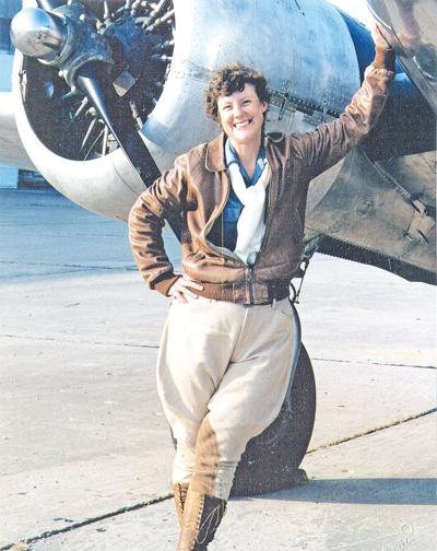 Amelia Earhart performer