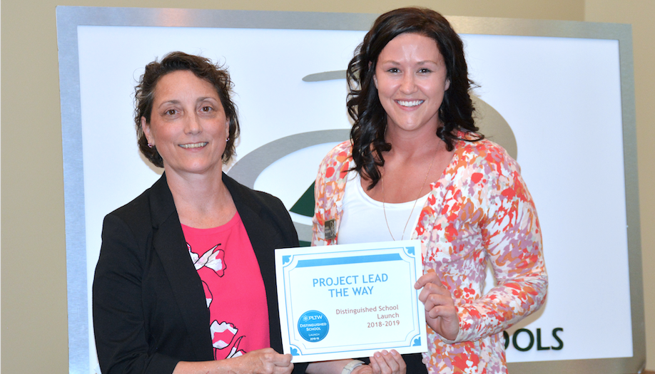 Derby elementary schools distinguished through Project Lead the Way