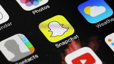Snapchat stock photo