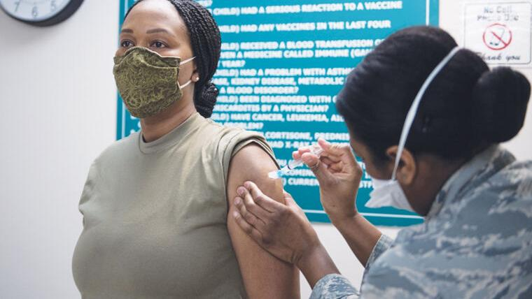 Vaccination rollout continues in Derby, throughout state