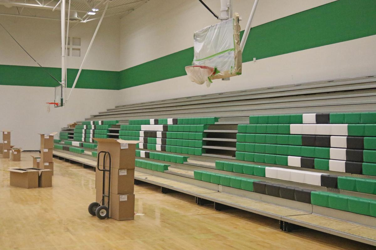 Athletic bond projects: High school gym remodel continues