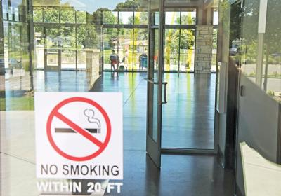 Smoking policy changes considered for parks