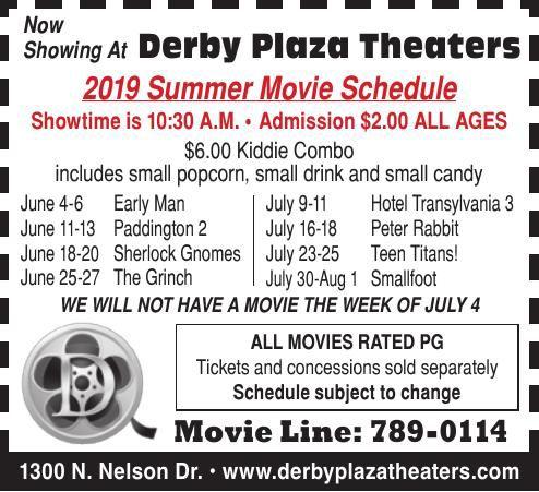 2019 Summer Kids Movie Schedule