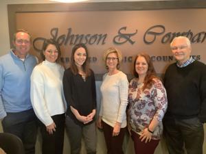 Johnson staff photo