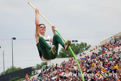 Derby state track and field (Kris Wood, pole vault)