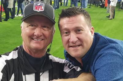 Steve and Spencer Stelljes 2019 retired NFL