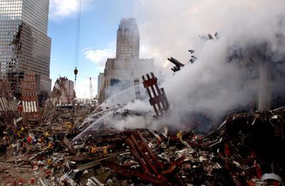 9/11 rubble