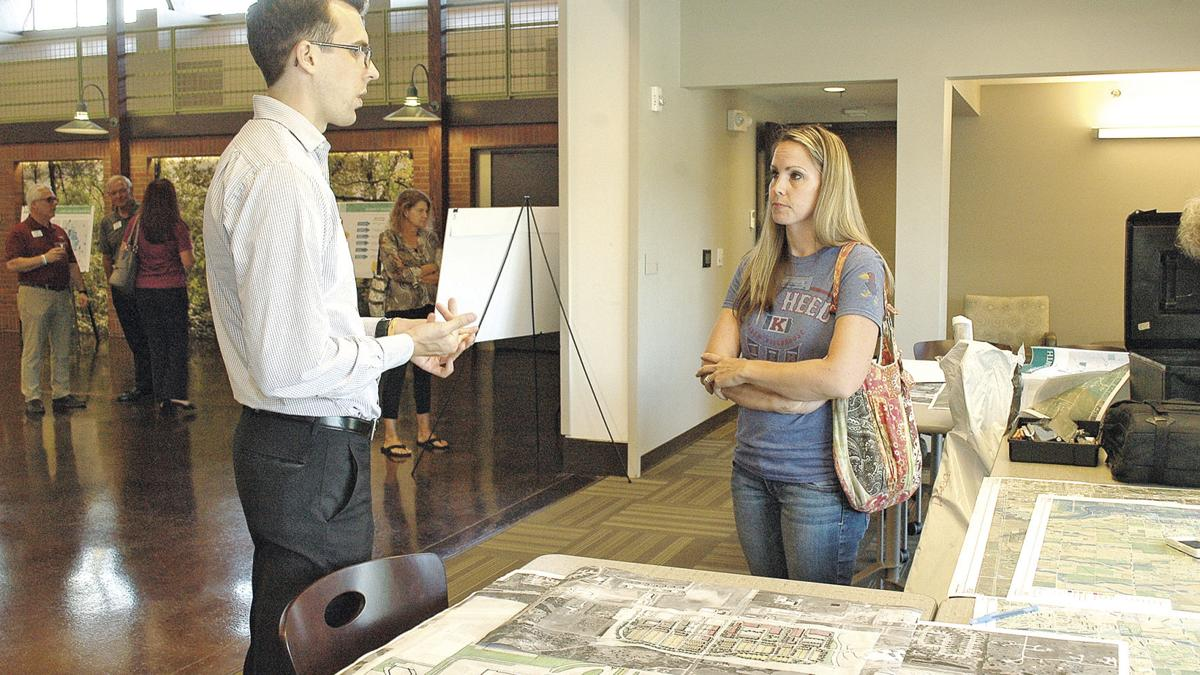 Citizens help seek the direction for city's future