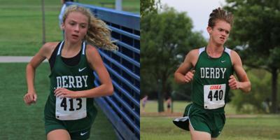 Dylan Roe Katie Hazen Derby cross country