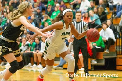 Feb. 8 Derby Lady Panther basketball vs. Newton (Aliyah Myers)