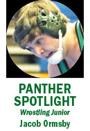 Panther Spotlight: Jacob Ormsby graphic