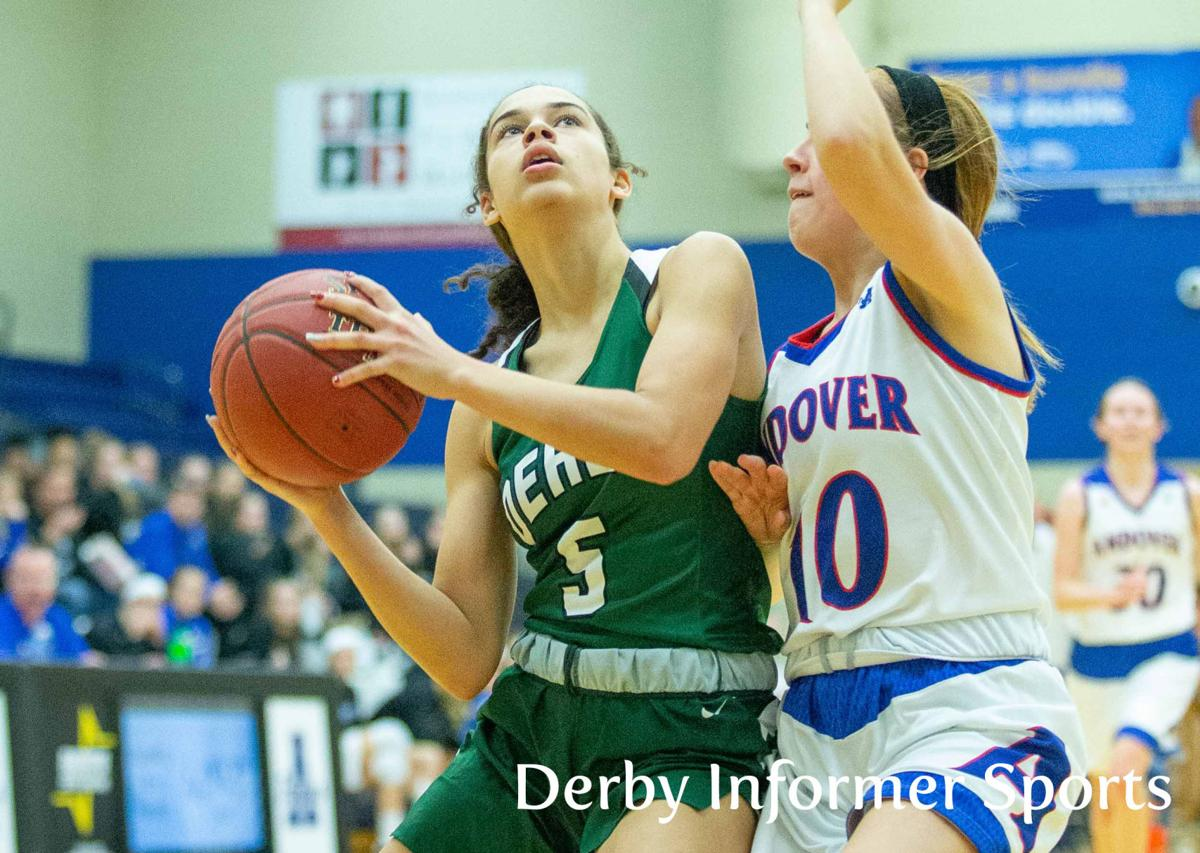 Jan. 4 Derby Lady Panther basketball at Andover (Katelyn Kennedy)