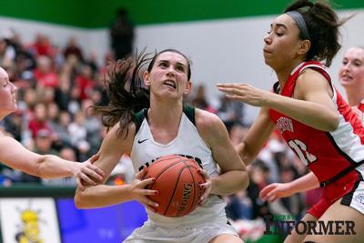 Derby vs. McPherson basketball (sydney nilles) dec. 3, 2019
