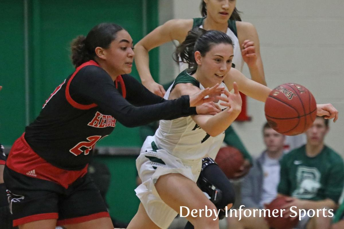 Jan. 10 Derby Lady Panther basketball vs. Wichita Heights (Sydney Nilles)