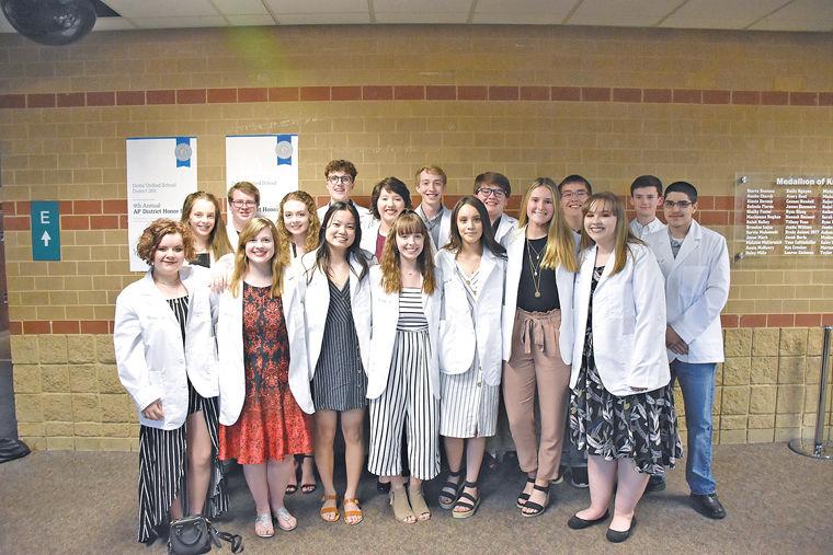 Derby High School White Coat Ceremony