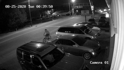 Rose Hill break-in security footage