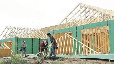 First senior housing units nearing finish