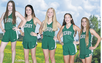 Derby girls cross country Oct. 9 2019