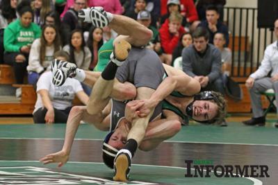 Derby wrestling file photo (Bryce Wells)