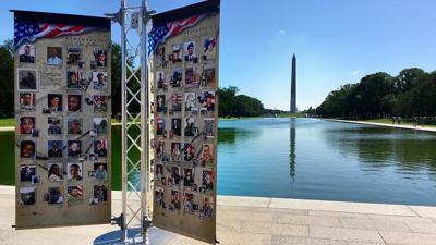 Remembering Our Fallen memorial
