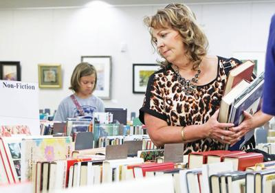 Book sale nets funds for the Library