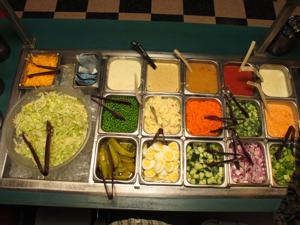 tallianos salad bar