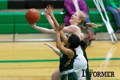 Derby girls basketball (Maryn Archer)