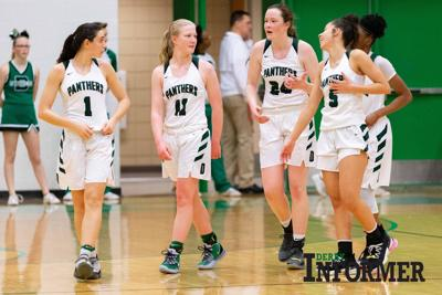 Derby vs. Andover BB, Lady Panthers