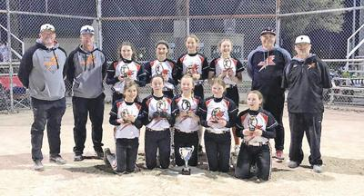 Derby 12U softball team ranked No. 1 in nation